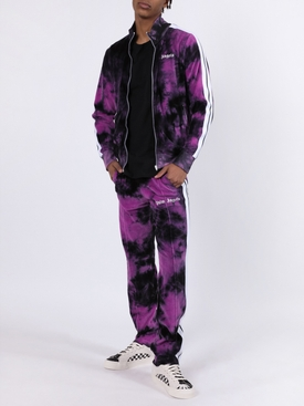 Tie-dye Track jacket PURPLE