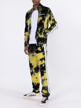 Tie-dye Track jacket YELLOW