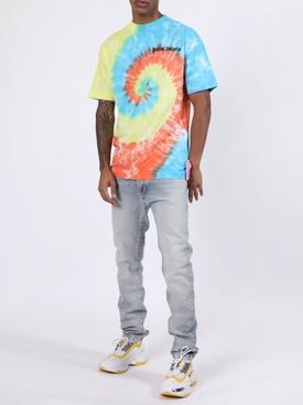 Multicolored tie-dye t-shirt