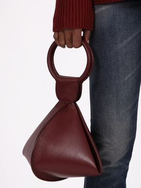 LADY GWEN BAG MEDIUM OXBLOOD