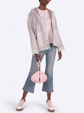 Gingham lined raincoat