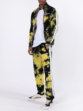 Tie-dye track pants YELLOW