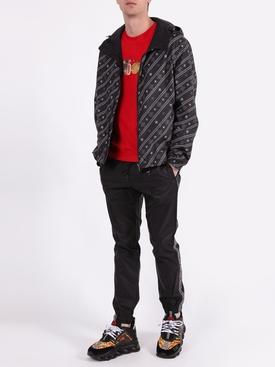 Karligraphy reversible jacket BLACK & GREY