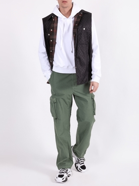 RIPSTOP CARGO PANT MILITARY GREEN