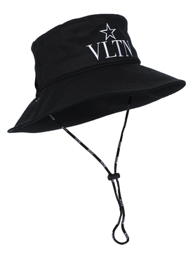 VLTN Bucket Hat with straps