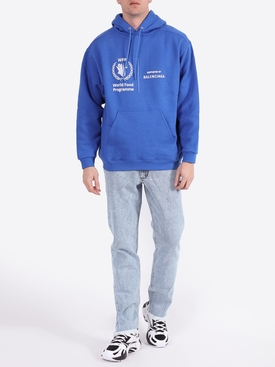 World Food Programme logo hoodie SAPHIR BLUE