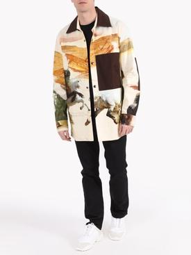 horse-print shirt