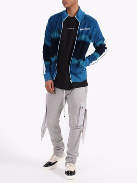 Tie-dye Track jacket BLUE