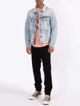 Sacred heart denim jacket