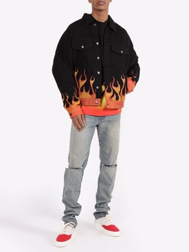 Burning Denim Jacket