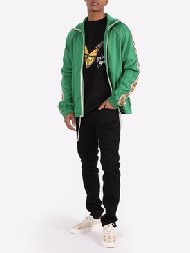 Logo tape track jacket CLOVER GREEN
