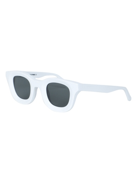 X RHUDE white rodeo sunglasses