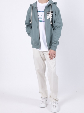 Stereotype drawstring hoodie GREY