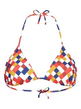Mosaic Triangle Bikini Top