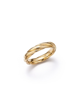 Tenderness Ecological Gold Woven Ring