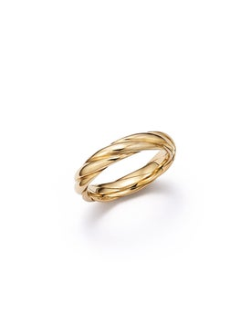 Futura - Tenderness Ecological Gold Woven Ring - Women