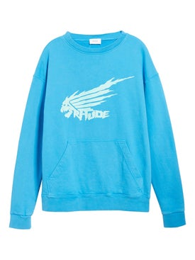 Rhude - Blue Dragon Sweatshirt - Men