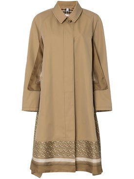 Burberry - Scarf Detail Trench Coat - Women