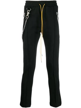 Rhude - Chain Track Pants Black - Men