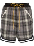 Rhude - Plaid Cotton Shorts - Men