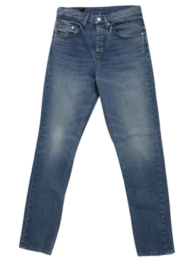 Japanese Cotton High Waist Jeans