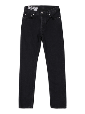 Classic tapered jeans black