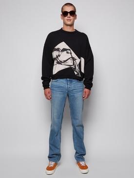 80's Indigo Straight Leg Jeans