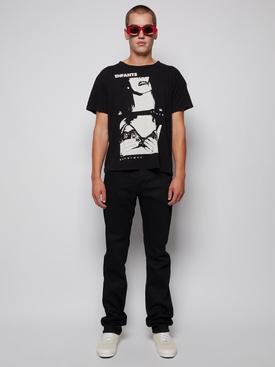 Classic straight leg jeans black