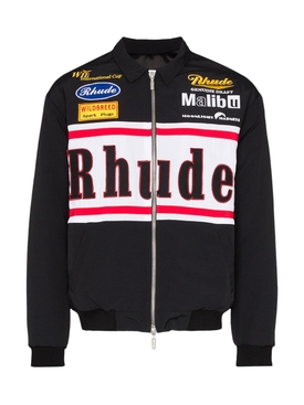 Multicolored Rhacing Patches Jacket
