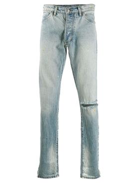 Distressed Denim 1 Jeans