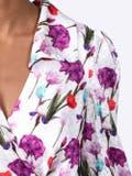 Borgo De Nor - Nilla Satin Jacquard Midi Dress - Women