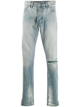 Distressed Denim 1 Jeans