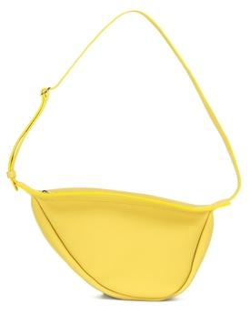 Small Slouchy Banana Bag, Citron