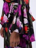 Borgo De Nor - Floral Bell Sleeve Dress - Women