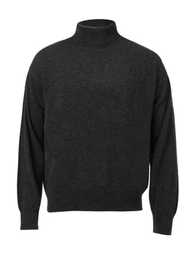 Charcoal Grey Classic Turtleneck