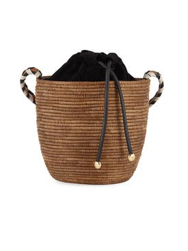 Cesta Collective - Straw Bucket Bag - Women