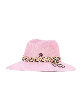 Pink Virginie Fedora Hat