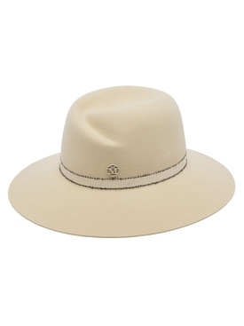 Maison Michel - Neutral Virginie Fedora Hat - Women