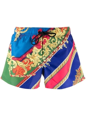 Baroque print swim shorts multicolor