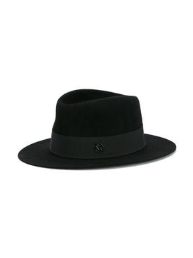 Andre Fedora Hat Black