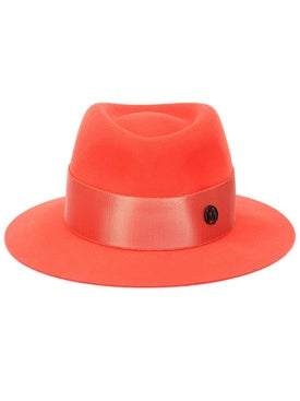 Maison Michel - Andre Hat, Coral - Fedora
