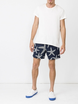 starfish print swim shorts