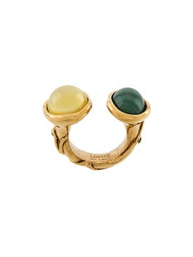 Loewe - Double Crystal Ring - Women