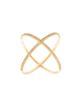 Champagne Diamond X-Ring