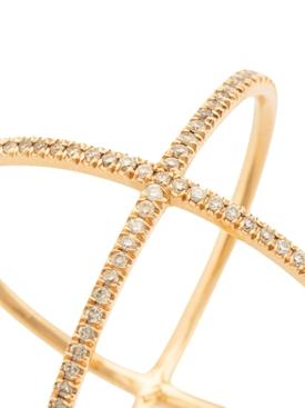 X Ring Rose Gold