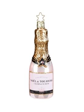 Rosé Champagne Ornament