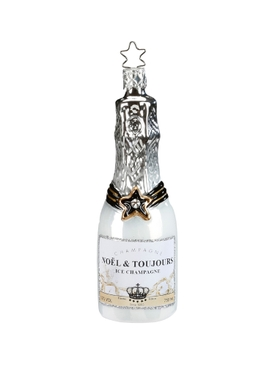 Ice Champagne Ornament