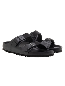 Black Arizona Slide Sandals