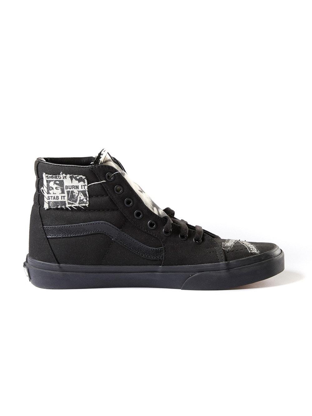 Vans X Enfants Riches Deprimes Sk8 Hi Sneakers Black | The Webster