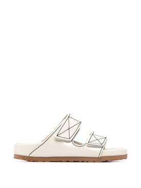 X Proenza Schoulder Arizona EXQ Sandal Ecru White